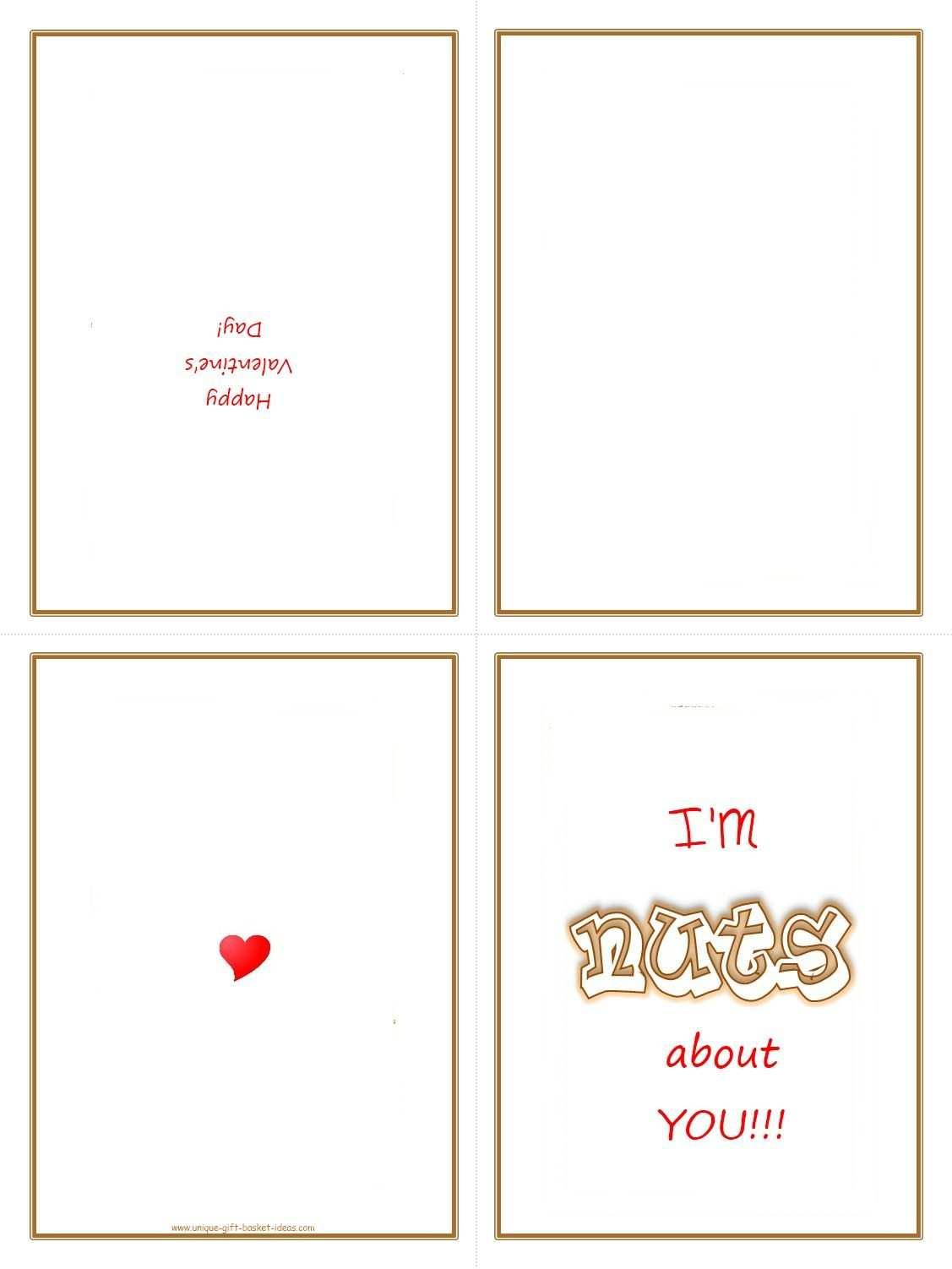 3 The Best Free Printable Quarter Fold Card Template Templates