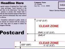 58 The Best Usps Postcard Mailing Guidelines in Word by Usps Postcard Mailing Guidelines