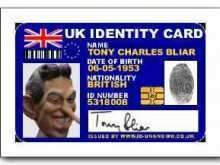 58 Visiting British Id Card Template Templates for British Id Card Template