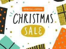 58 Visiting Christmas Sale Flyer Template Now with Christmas Sale Flyer Template