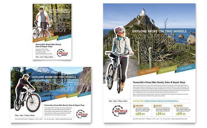 59 Adding Bicycle Flyer Template in Photoshop by Bicycle Flyer Template