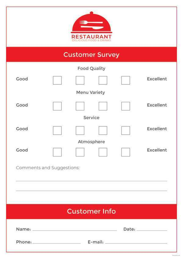 59 Adding Comment Card Template Restaurant Free in Word for Comment Card Template Restaurant Free