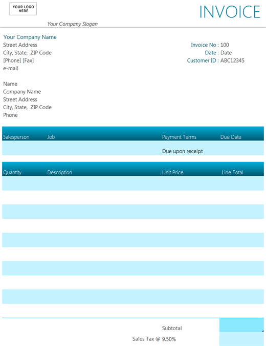 59 Adding Company Invoice Format Excel PSD File for Company Invoice Format Excel