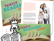59 Adding Family Reading Night Flyer Template Layouts for Family Reading Night Flyer Template
