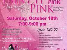 59 Best Breast Cancer Fundraiser Flyer Templates Formating for Breast Cancer Fundraiser Flyer Templates
