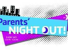 Parents Night Out Flyer Template Free