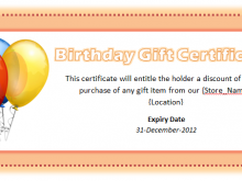 59 Blank Birthday Gift Card Template Word Now with Birthday Gift Card Template Word