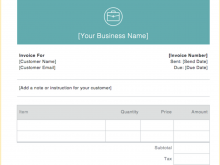 59 Blank Freelance Instructor Invoice Template Download for Freelance Instructor Invoice Template