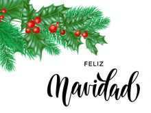 59 Creative Christmas Card Template In Spanish Formating by Christmas Card Template In Spanish