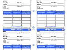 59 Creative Drug Card Template Printable in Photoshop by Drug Card Template Printable