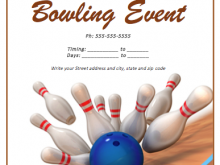 59 Customize Bowling Flyer Template Free Layouts by Bowling Flyer Template Free