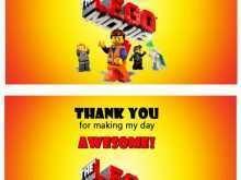 59 Customize Lego Thank You Card Template PSD File for Lego Thank You Card Template