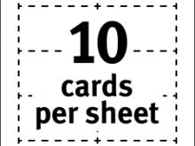 59 Format Business Card Print Sheet Template Layouts for Business Card Print Sheet Template