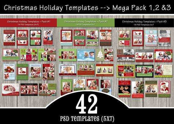 59 Format Christmas Card Templates Etsy With Stunning Design with Christmas Card Templates Etsy