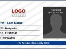 59 Free Id Card Template For Word Download for Id Card Template For Word