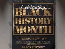 59 Free Printable Black History Month Flyer Template in Photoshop for Black History Month Flyer Template
