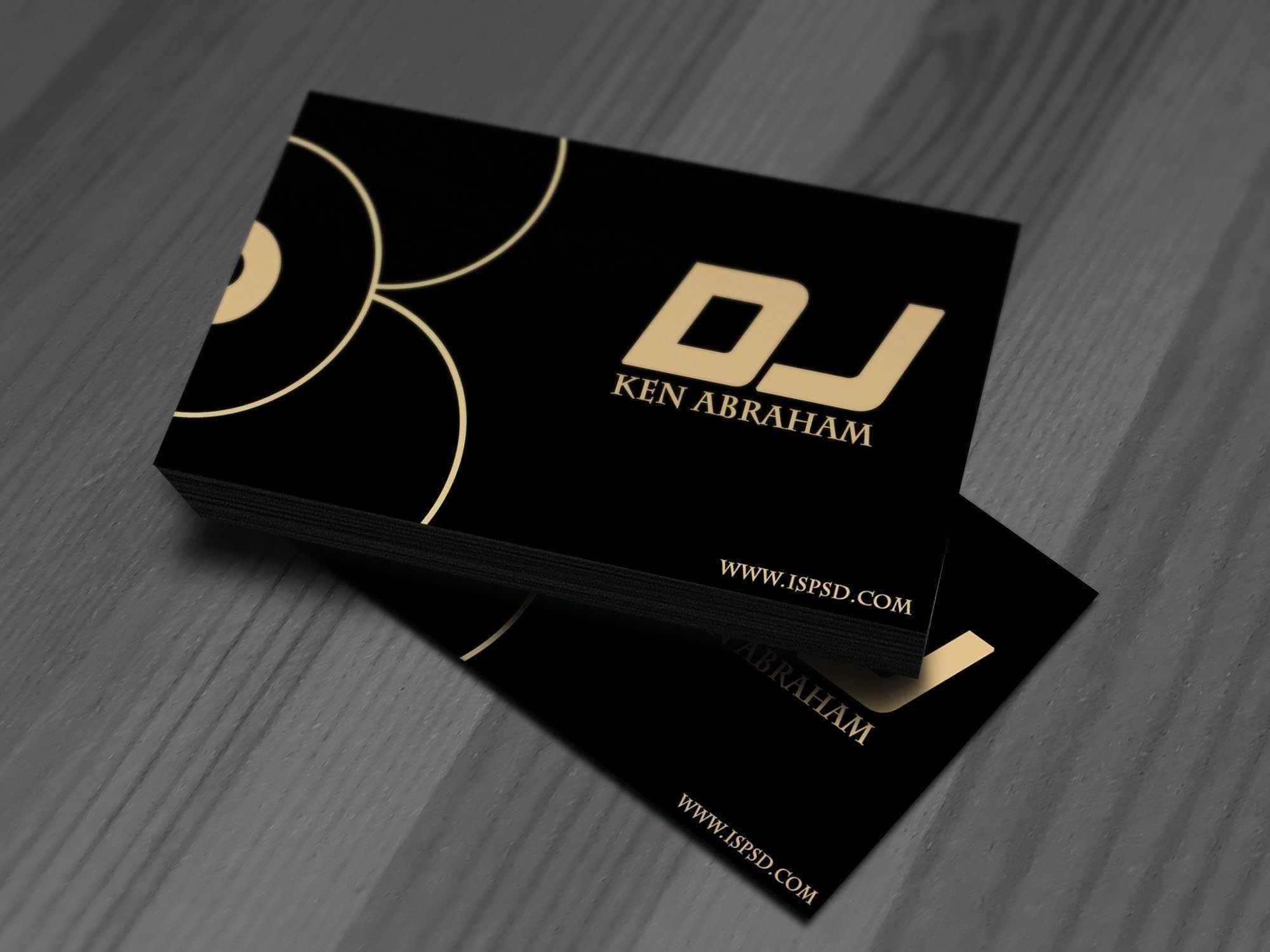 59 Free Printable Business Card Templates Dj Free Maker by Business Card Templates Dj Free