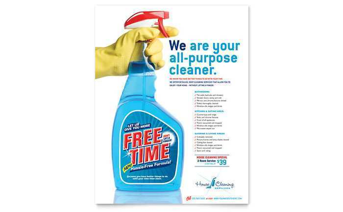 59 Free Printable Cleaning Flyers Templates Formating with Cleaning Flyers Templates