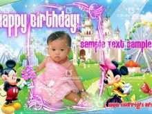 59 How To Create 1St Birthday Card Template Psd Photo for 1St Birthday Card Template Psd