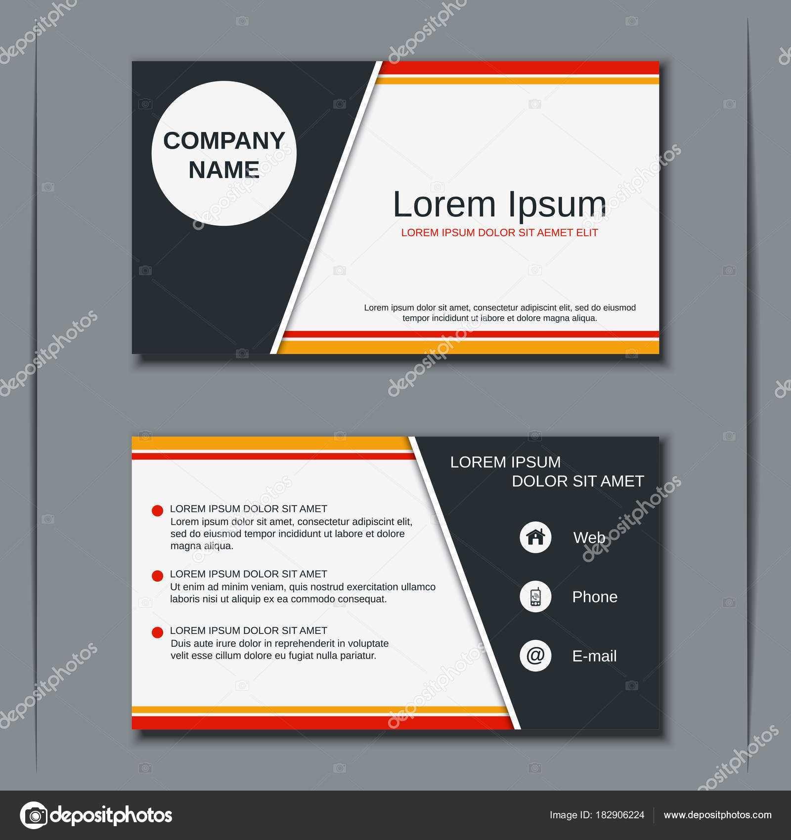 59 Online V Card Design Template Templates for V Card Design Template