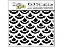 59 Printable 6X6 Card Template With Stunning Design by 6X6 Card Template