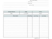 59 Printable Construction Job Invoice Template Layouts for Construction Job Invoice Template