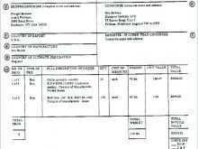 59 Report Invoice Template Fedex for Ms Word with Invoice Template Fedex