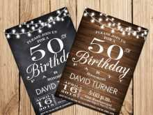 59 Standard 50Th Birthday Card Template Free Templates for 50Th Birthday Card Template Free