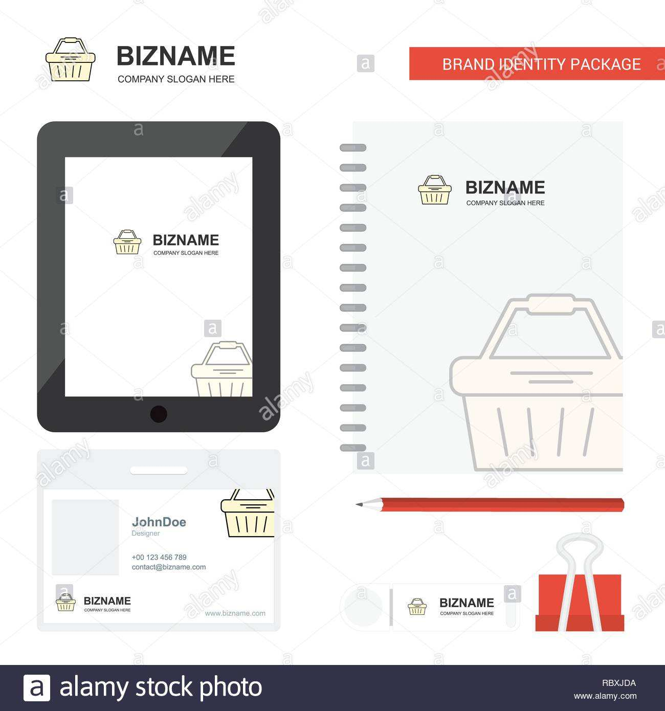 59 Standard Card Basket Template PSD File with Card Basket Template