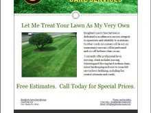 59 Standard Lawn Mowing Flyer Template Maker with Lawn Mowing Flyer Template
