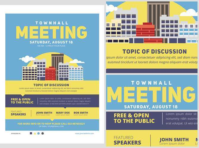 59 Standard Meeting Flyer Template Templates for Meeting Flyer Template