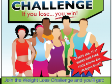 59 The Best Biggest Loser Flyer Template Layouts for Biggest Loser Flyer Template