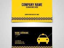 59 Visiting Business Card Template Taxi For Free for Business Card Template Taxi