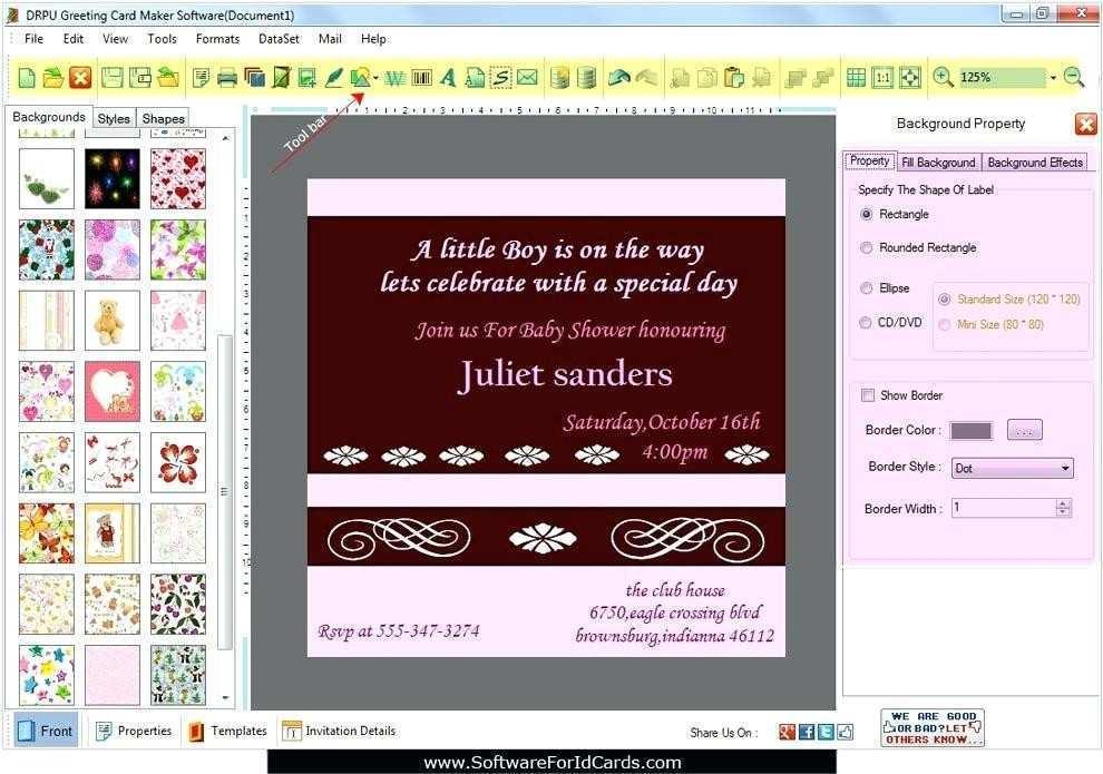 60 Adding Invitation Card Designs Software Free Download for Ms Word for Invitation Card Designs Software Free Download