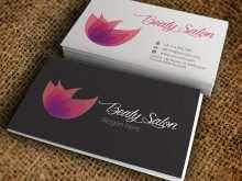 60 Best Beauty Salon Business Card Template Free Download Layouts by Beauty Salon Business Card Template Free Download