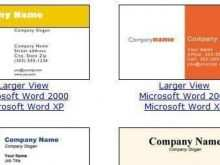 60 Best Business Card Template In Word 2010 Formating by Business Card Template In Word 2010