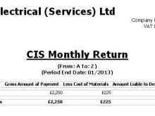 60 Best Cis Vat Invoice Template Download with Cis Vat Invoice Template