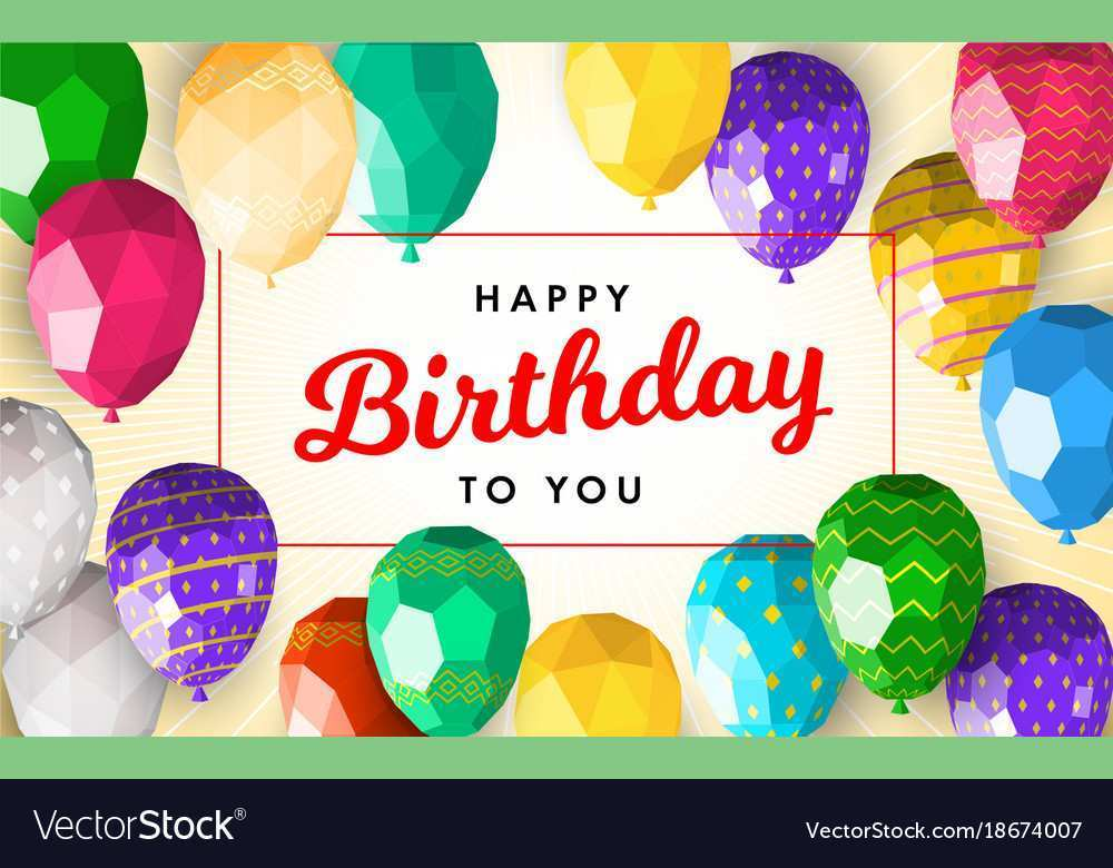60 Best Happy Birthday Greeting Card Template Formating for Happy Birthday Greeting Card Template