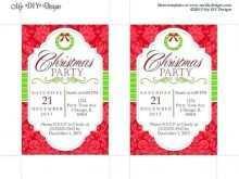60 Blank Christmas Invitation Flyer Template Free PSD File for Christmas Invitation Flyer Template Free
