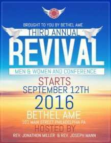 60 Blank Church Revival Flyer Template Layouts by Church Revival Flyer Template
