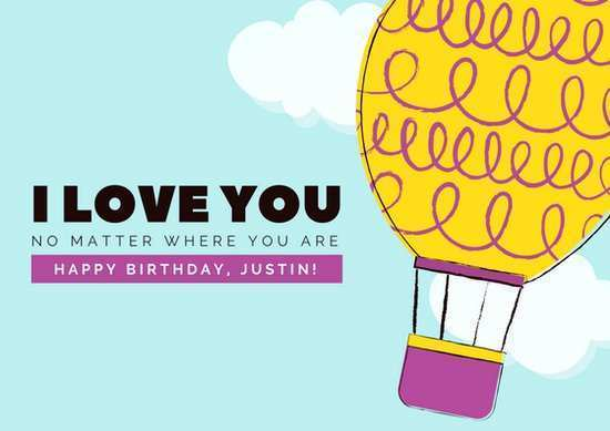 60 Create Birthday Card Love Template PSD File with Birthday Card Love Template