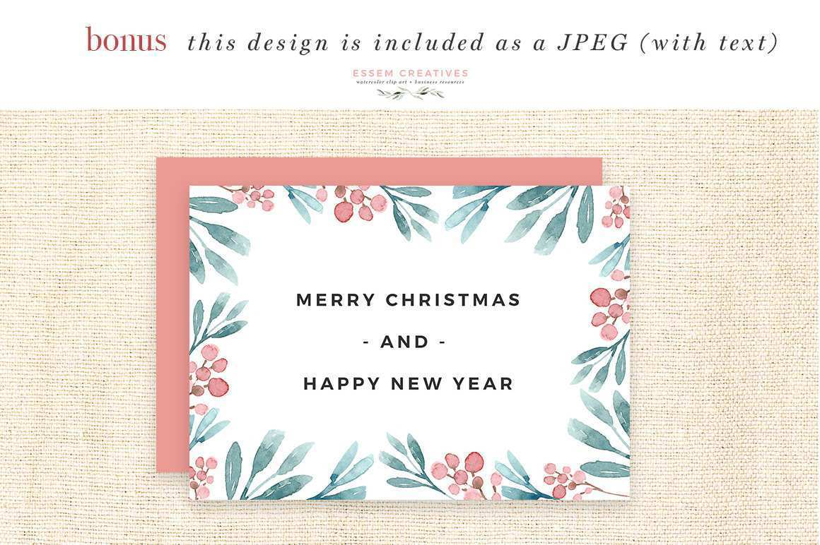 60 Create Christmas Card Template A4 For Free for Christmas Card Template A4