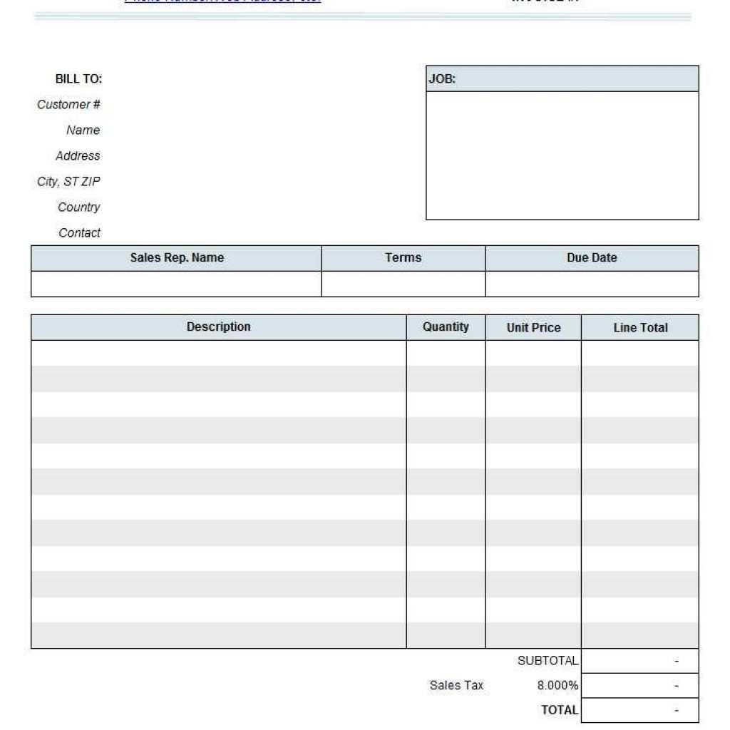 60 Create Construction Invoice Template Xls Layouts with Construction Invoice Template Xls
