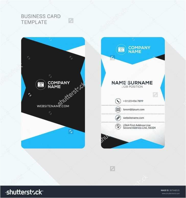 60 Create Two Sided Business Card