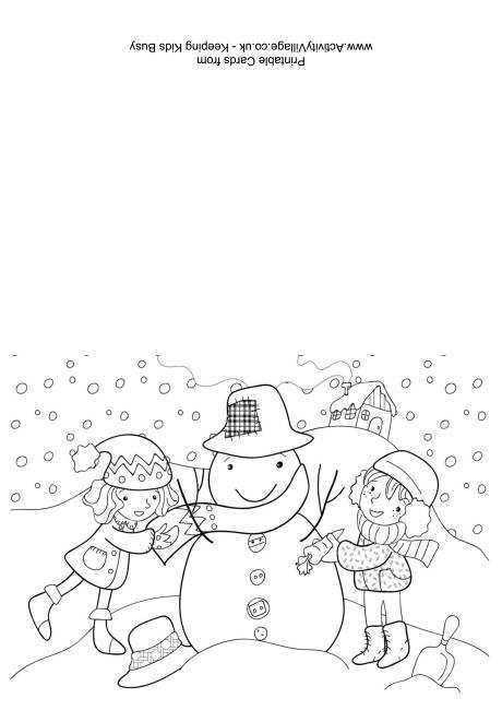 60 Creating Christmas Card Template Colour In by Christmas Card Template Colour In
