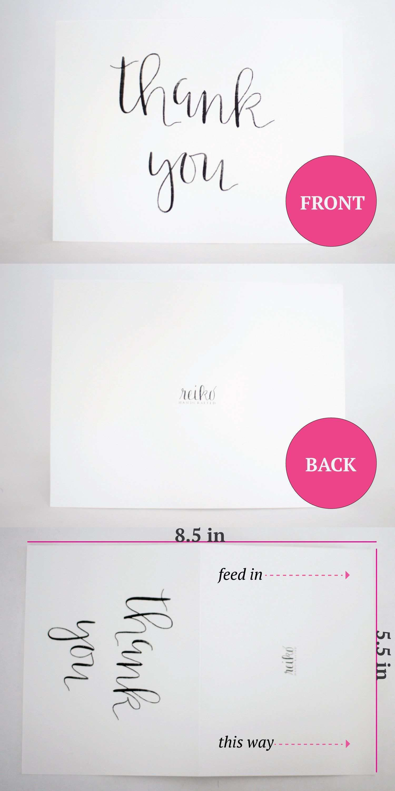 2111 Creative A211 Thank You Card Template Download for A211 Thank You Regarding A2 Card Template