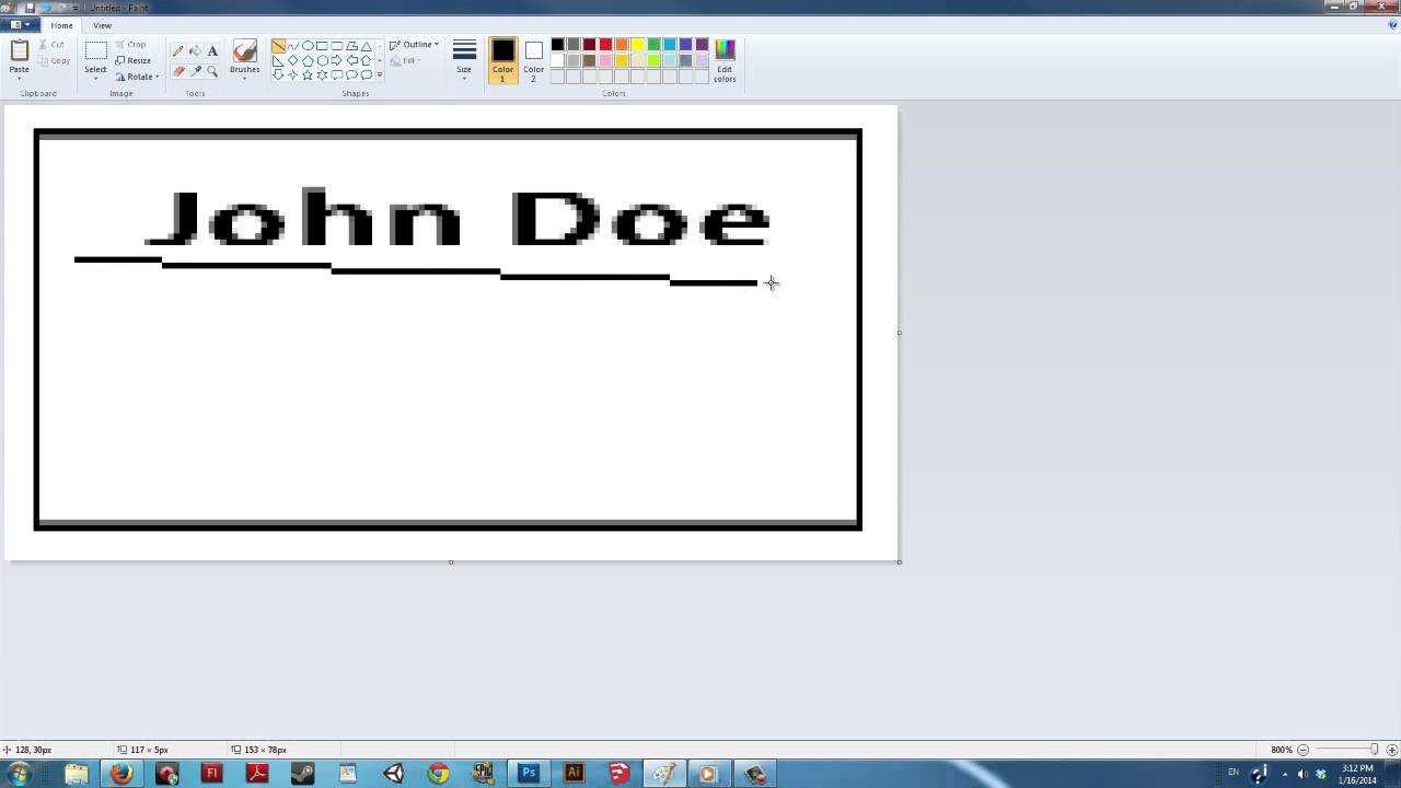 60 Customize Business Card Template Paint Net Download with Business Card Template Paint Net