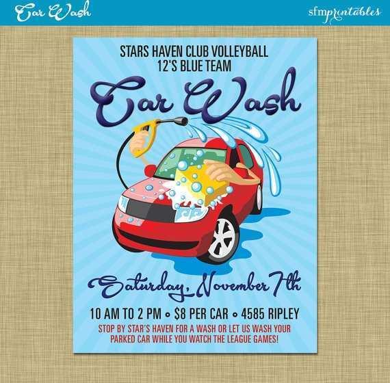 60 Customize Car Wash Fundraiser Flyer Template Free Now for Car Wash Fundraiser Flyer Template Free