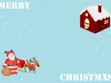 60 Customize Our Free Christmas Card Animation Template With Stunning Design with Christmas Card Animation Template