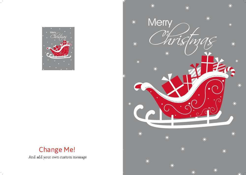 60 Customize Our Free Christmas Card Template A5 Templates for Christmas Card Template A5